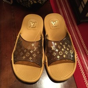 Louis Vuitton Monogram Slide Sandals